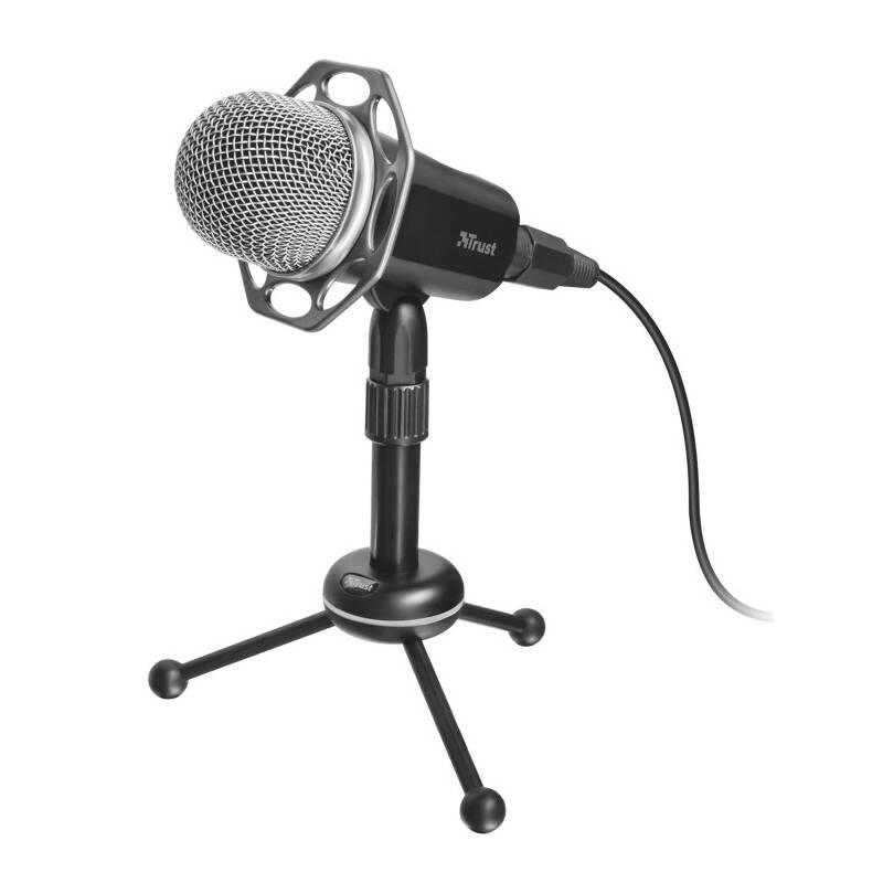 Mikrofón Trust Radi All-Round (21752) čierny + Doprava zadarmo