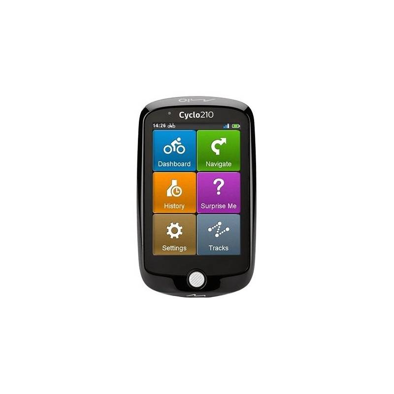 Navigačný systém GPS Mio Cyclo 210 (442N50600005) čierna + + darček + Doprava zadarmo