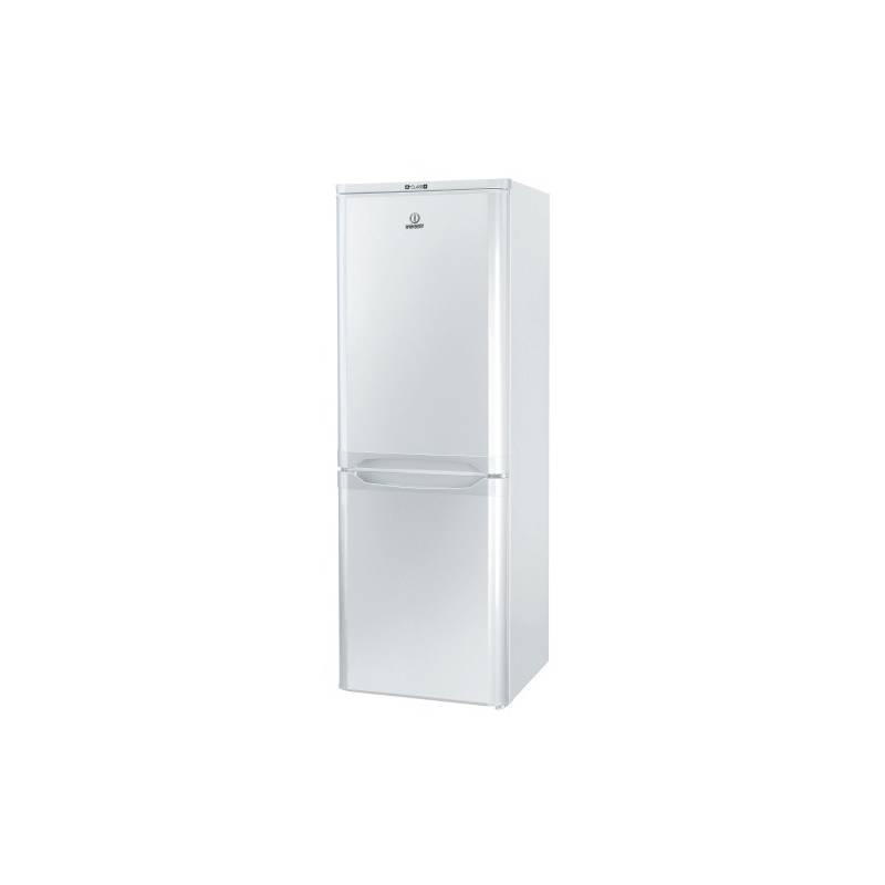 Kombinácia chladničky s mrazničkou Indesit Giugiaro NCAA 55 biela
