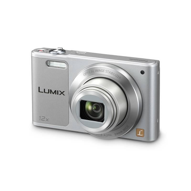 Digitálny fotoaparát Panasonic DMC-SZ10EP-S strieborný