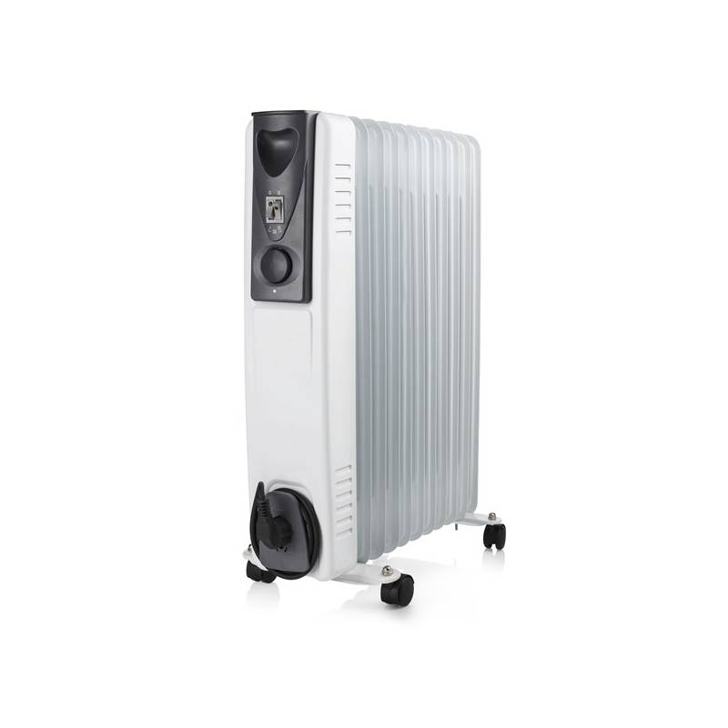 Olejový radiátor Tristar KA-5115 čierny/biely