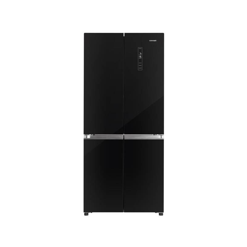 Kombinácia chladničky s mrazničkou Concept LA8783bc čierna + dodatočná zľava 10 % + Doprava zadarmo