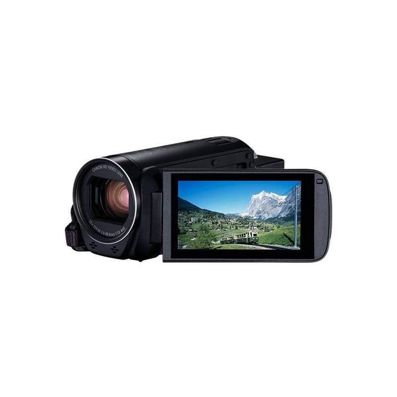 Videokamera Canon LEGRIA HF R806 Essential Kit + pouzdro + karta (1960C015) čierna