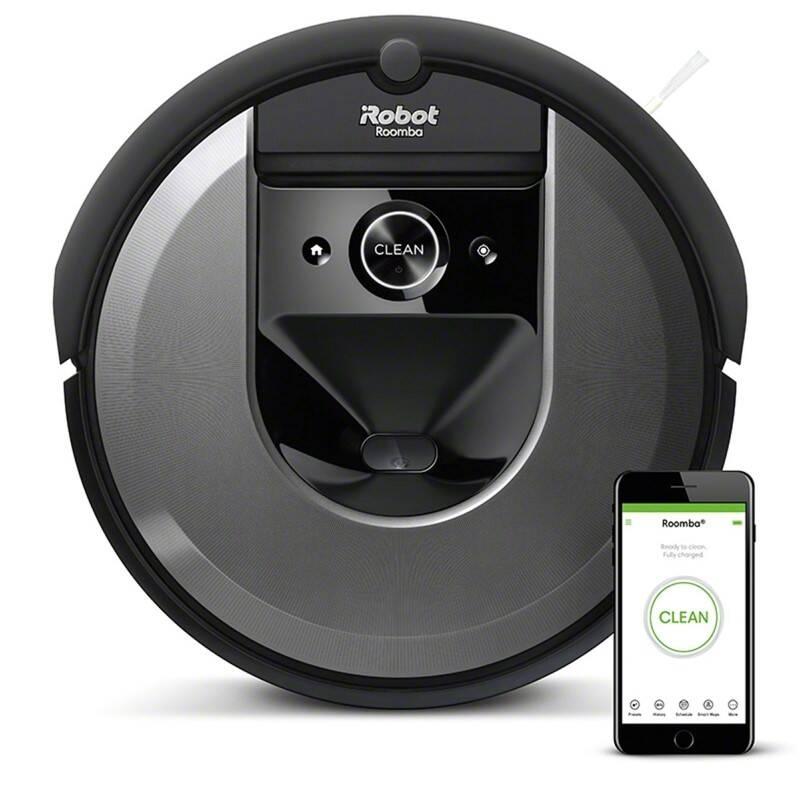 Robotický vysavač iRobot Roomba i7 černý