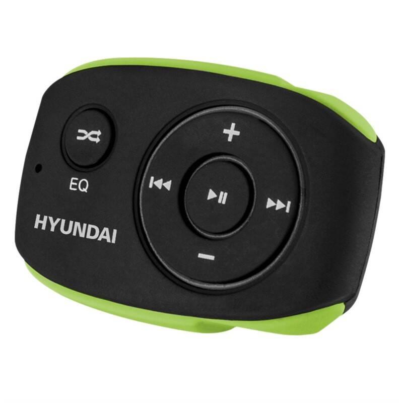 MP3 prehrávač Hyundai MP 312 GB4 BG čierny/zelený