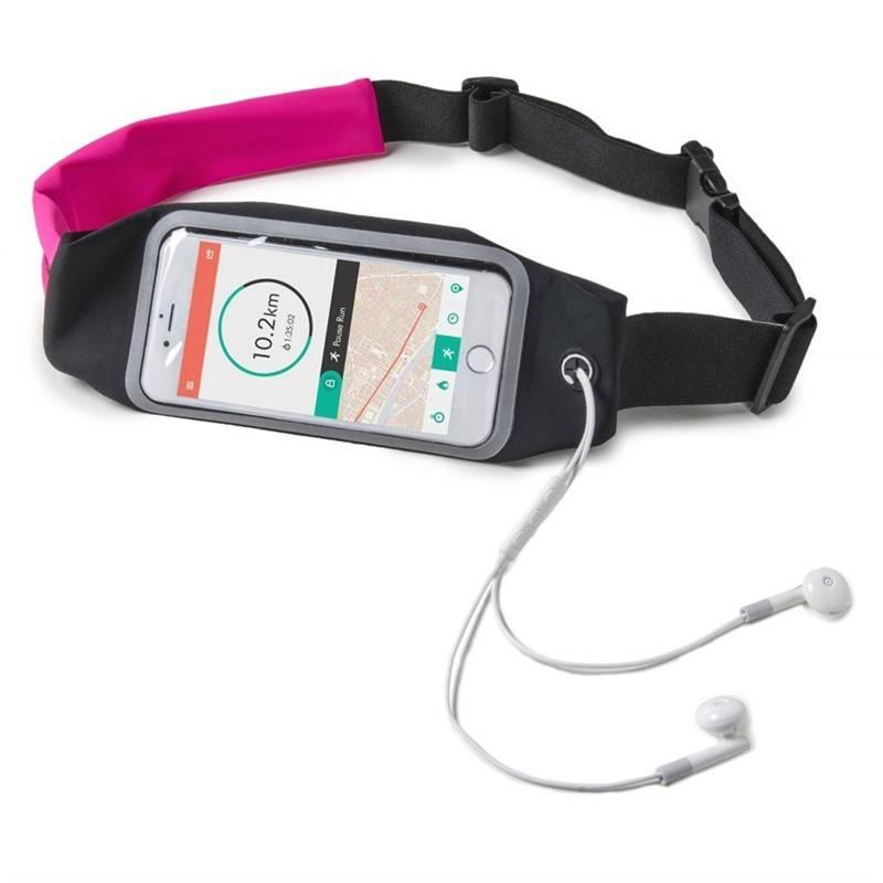 """Púzdro na mobil športové Celly RUNBDUO XXL na telefony do 6,2"""" (RUNBDUOXXLPK) ružové"""
