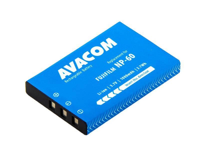 Akumulátor Avacom Fujifilm NP-60, Li-Ion 3.7V 1000mAh 3.7Wh (DIFU-NP60-309N2)