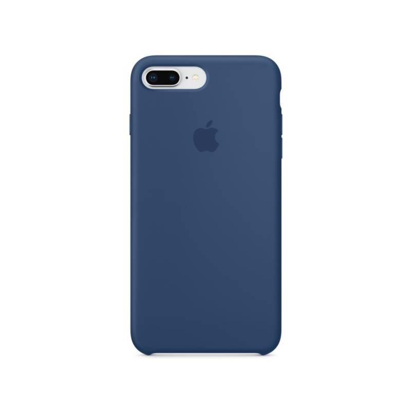 Kryt na mobil Apple Silicone Case pro iPhone 8 Plus   7 Plus - kobaltově  modrý (MQH02ZM A) 3c9901bc953