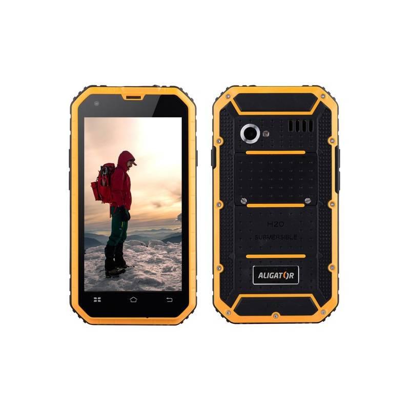 Mobilný telefón Aligator RX460 eXtremo 16 GB Dual SIM (ARX460BY) čierny/žltý Software F-Secure SAFE, 3 zařízení / 6 měsíců (zdarma) + Doprava zadarmo