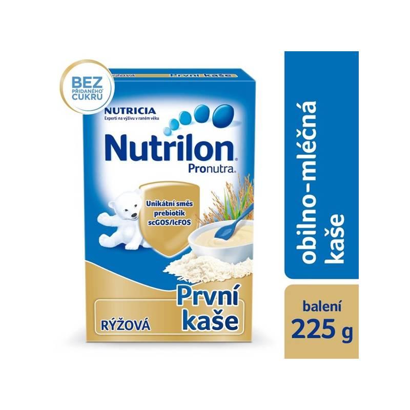 Mliečna kaša Nutrilon Pronutra rýžová, 225g