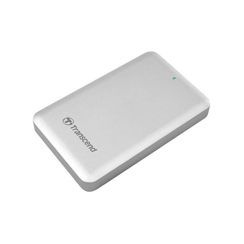 Externý pevný disk Transcend StoreJet 300 2TB (TS2TSJM300) strieborný