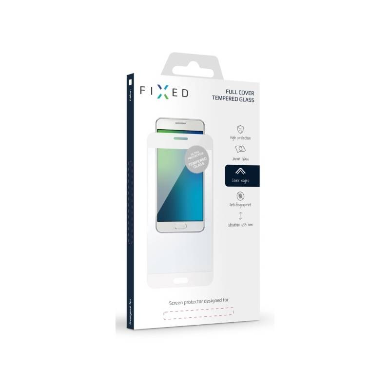 Ochranné sklo FIXED Full-Cover pro Samsung Galaxy A3 (2017) (FIXGF-157-033WH) biele