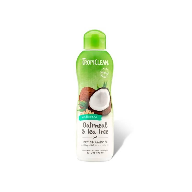 Šampón Tropiclean Medicated Ovesné vločky a čajovník 355ml