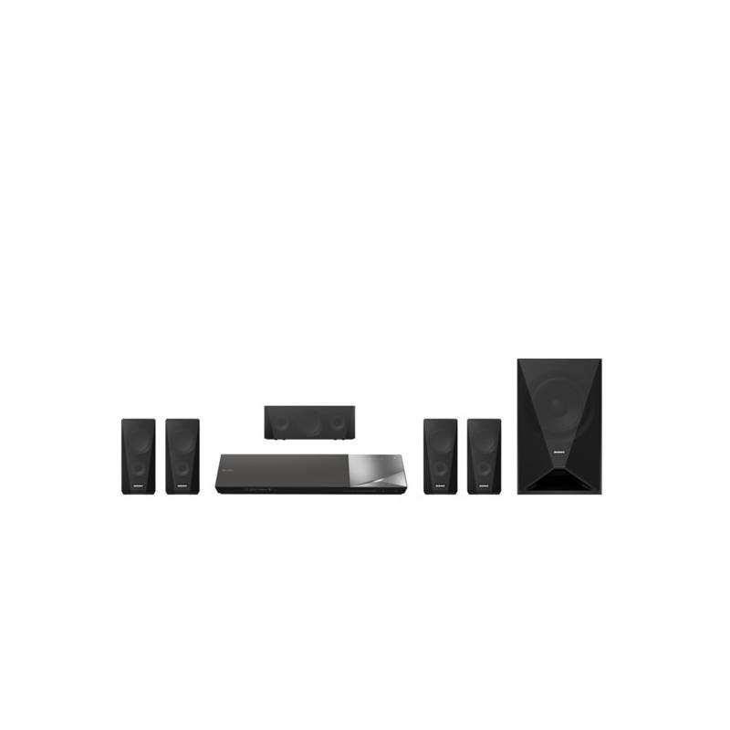 Domáce kino Sony BDV-N5200W čierne + Doprava zadarmo