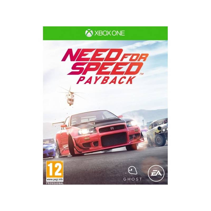 Hra EA Xbox One Need for Speed Payback (EAX352206)