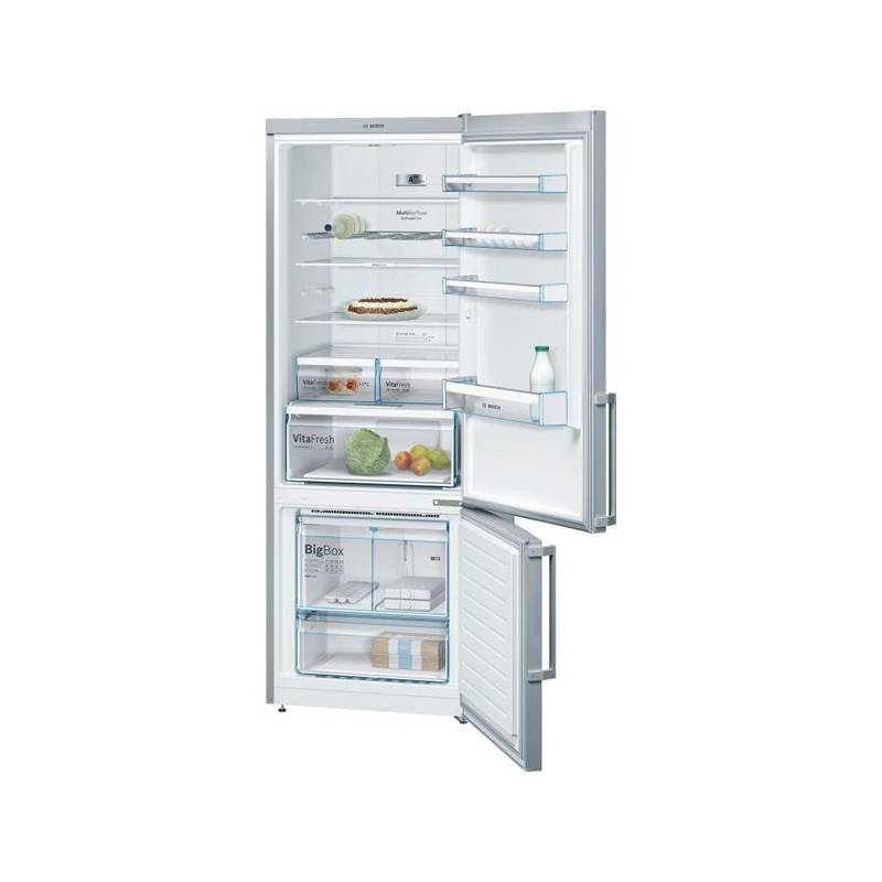 Kombinácia chladničky s mrazničkou Bosch KGN56XI40 nerez/Inoxlook + Doprava zadarmo