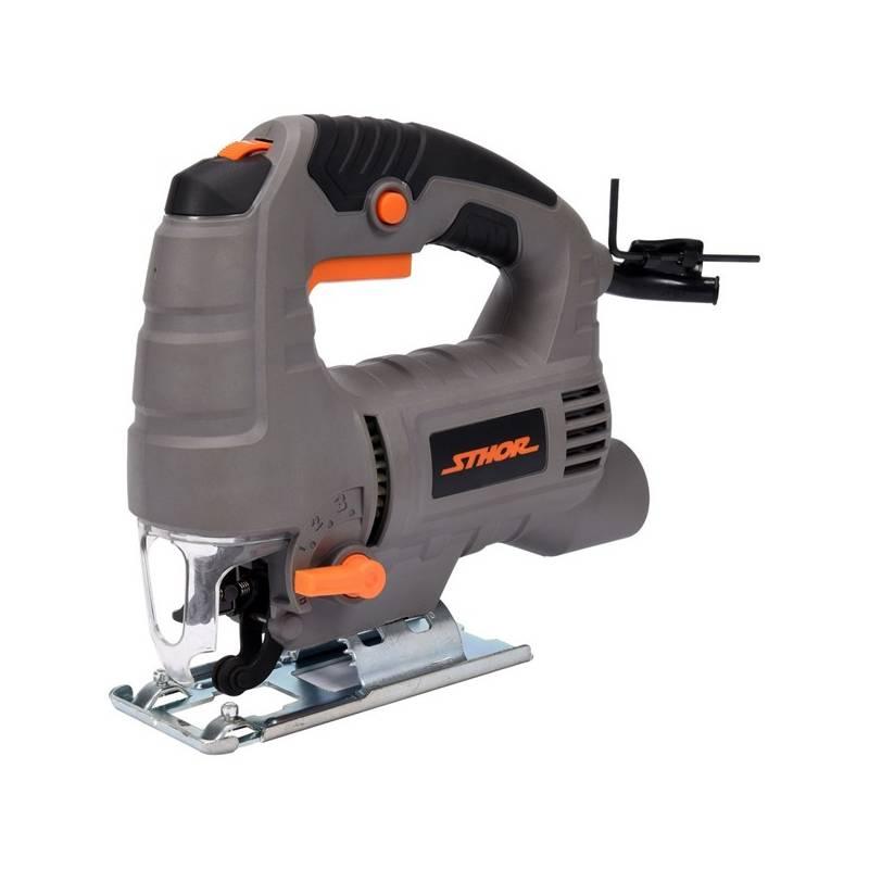 Priamočiara píla Sthor 650 W (TO-79474) Sada ochranných pomůcek Bosch (zdarma)
