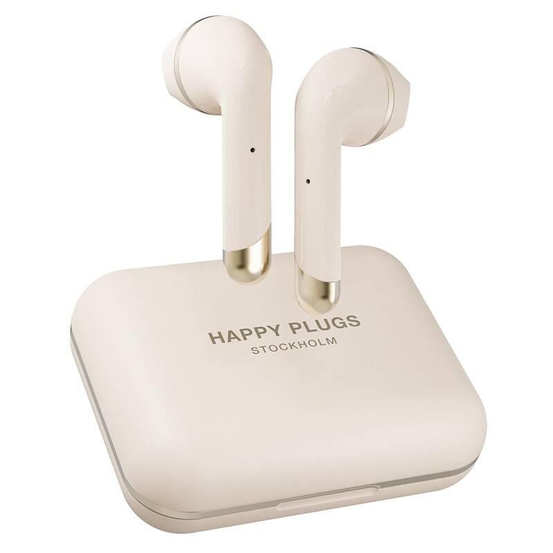 Slúchadlá Happy Plugs Air 1 Plus zlatá + Doprava zadarmo