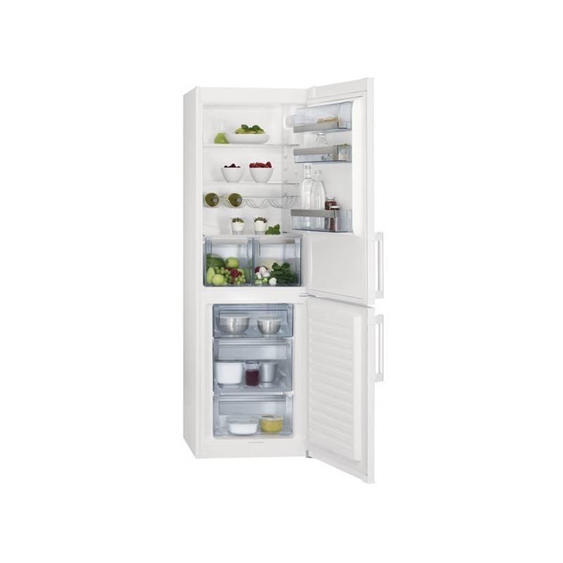 Kombinácia chladničky s mrazničkou AEG S53630CSW2 biela + Doprava zadarmo