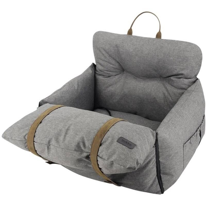 Pelech Nobby cestovný pre psov BENA šedý 60x50x43cm