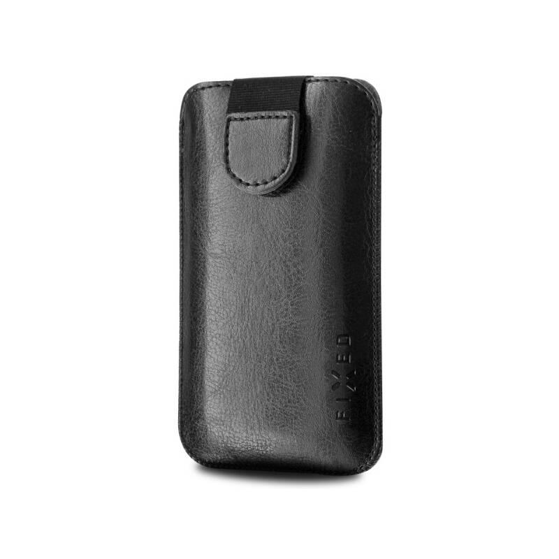 """Púzdro na mobil flipové FIXED Soft Slim 4XL (vhodné pro 5"""") (RPSOS-001-4XL) čierne"""