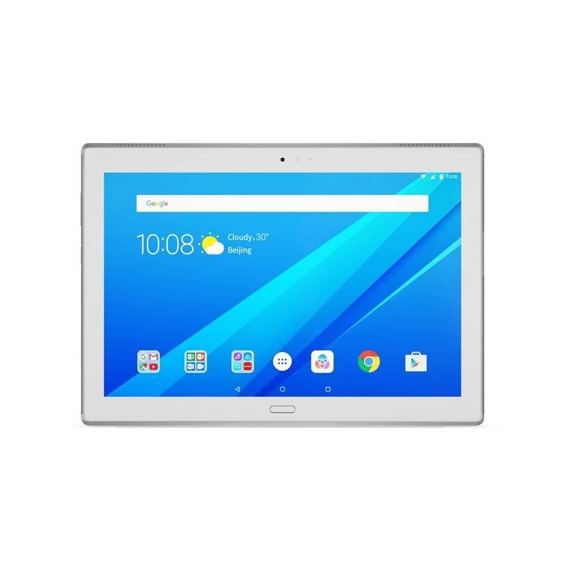 "Tablet Lenovo TAB4 10"" PLUS LTE 64 GB (ZA2R0090CZ) biely + Doprava zadarmo"