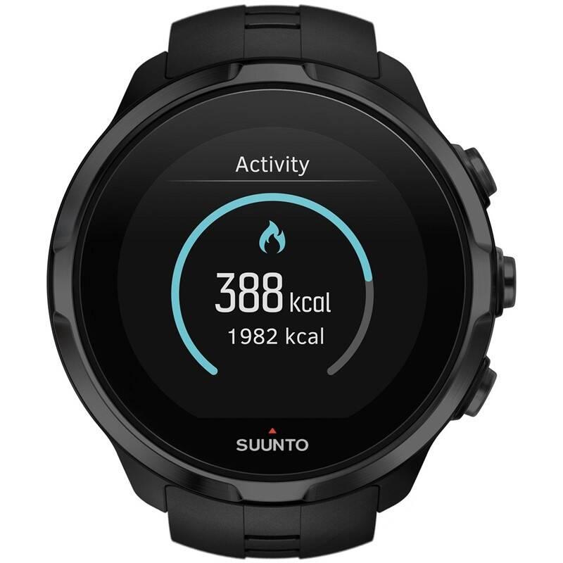 GPS hodinky Suunto Spartan Sport All Black HR (SS022662000) + Doprava zadarmo