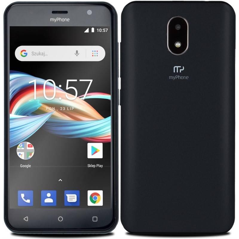 Mobilní telefon myPhone Fun 6 Lite (TELMYAFUN6LBK) černý