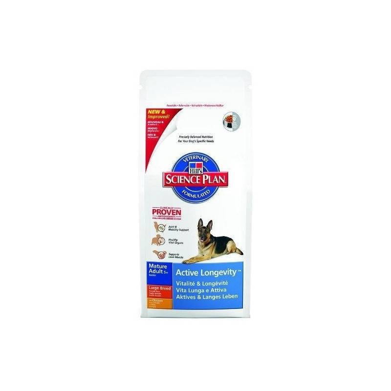 Granule Hill's Canine Mature Adult 5+ Large Breed Chicken, 12kg (pre psov)