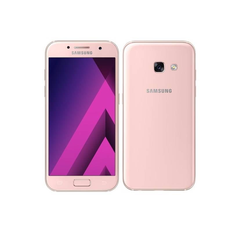 Mobilný telefón Samsung Galaxy A3 (2017) (SM-A320FZINETL) ružový Software F-Secure SAFE 6 měsíců pro 3 zařízení (zdarma) + Doprava zadarmo