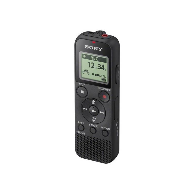 Diktafón Sony ICD-PX370 čierny + Doprava zadarmo