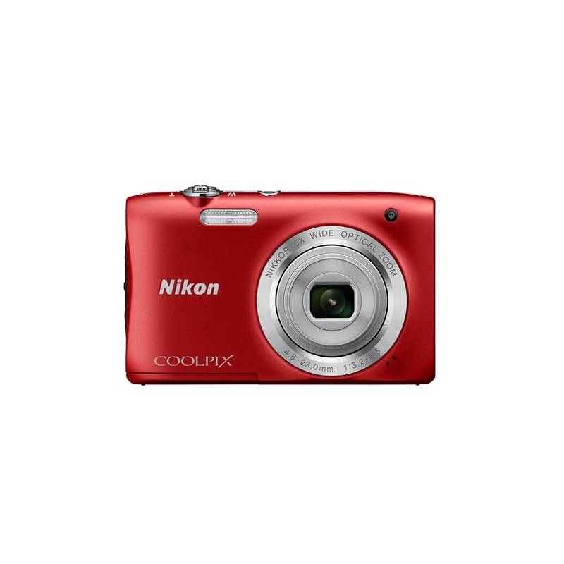 Digitálny fotoaparát Nikon Coolpix S2900 červený