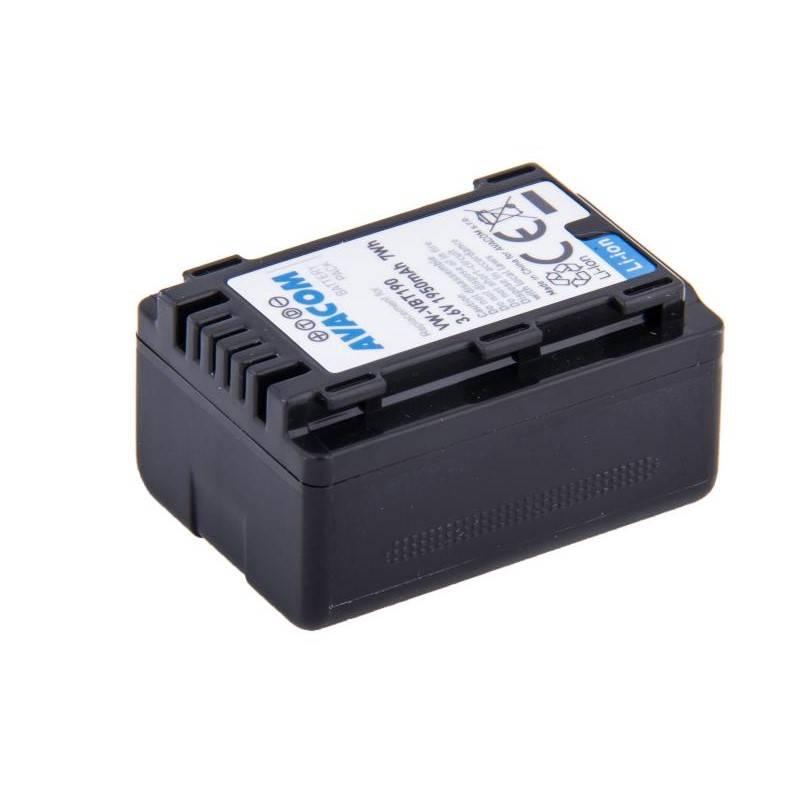 Batéria Avacom Panasonic VW-VBT190 Li-Ion 3.6V 1950mAh 7Wh (VIPA-T190-J1950)