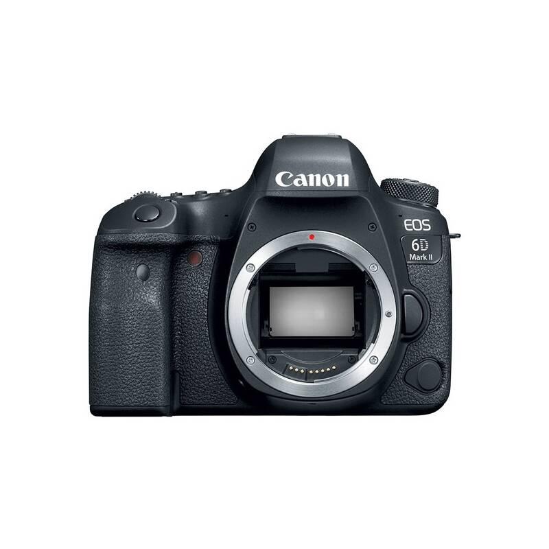 Digitálny fotoaparát Canon EOS 6D Mark II, telo + darček Canon blesk 430 EX III RT (1897C003) čierny + Doprava zadarmo