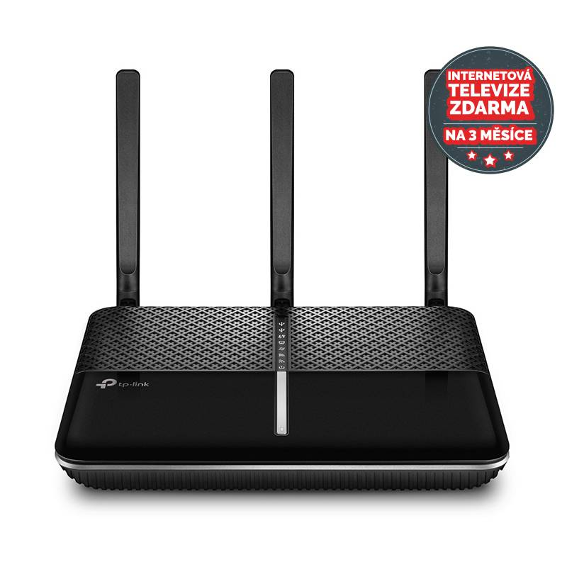 Router TP-Link Archer C2300 + IP TV na 3 měsíce ZDARMA (Archer C2300) čierny
