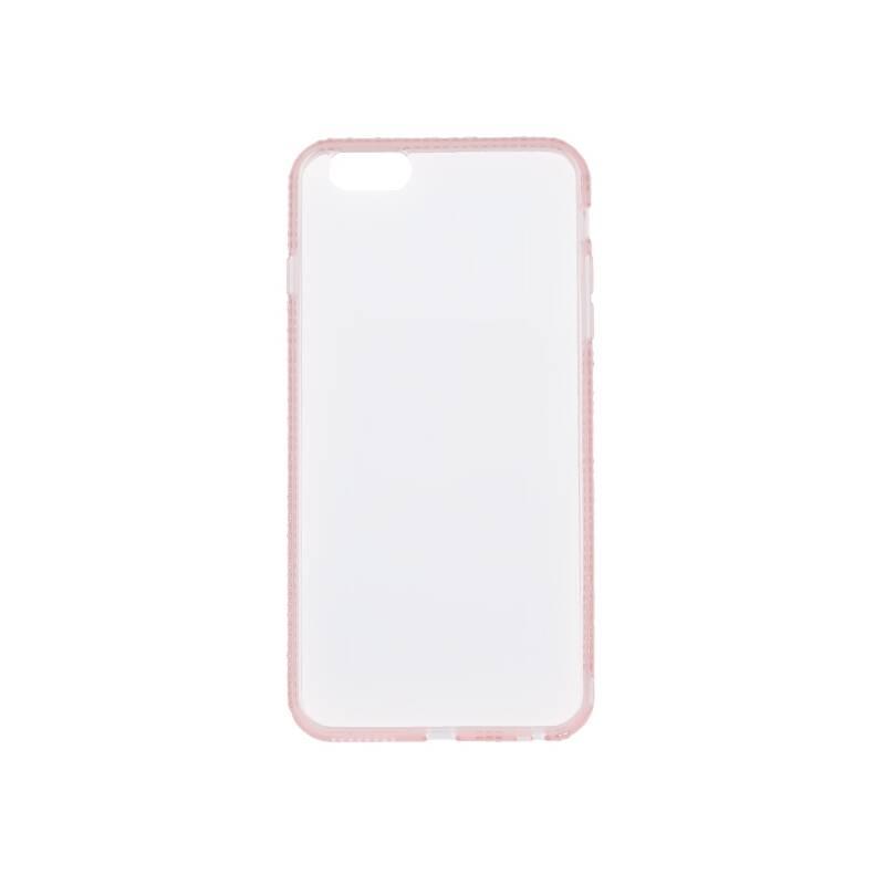 Kryt na mobil Beeyo Diamond Frame pro Samsung Galaxy S10 ružový