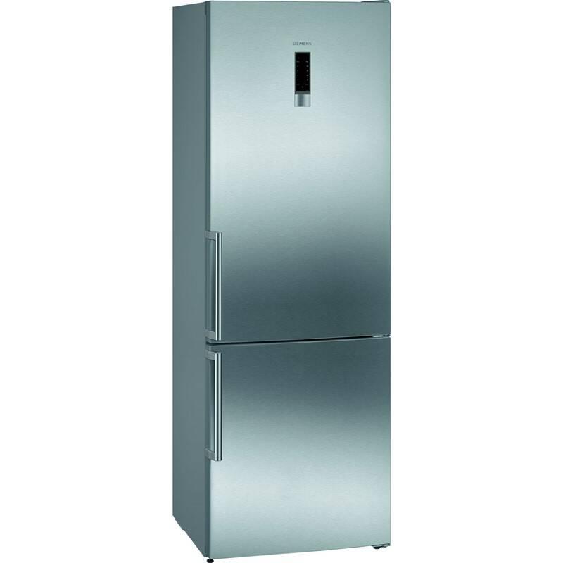 Kombinácia chladničky s mrazničkou Siemens iQ300 KG49NXIEP nerez + Doprava zadarmo
