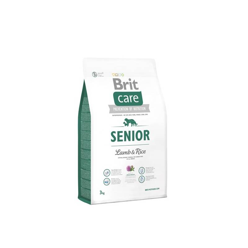 Granuly Brit Care Senior Lamb & Rice 3 kg