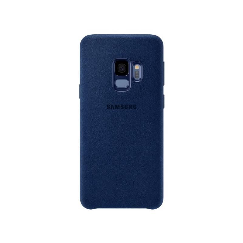 Kryt na mobil Samsung Alcantara pro Galaxy S9 (EF-XG960A) (EF-XG960ALEGWW) modrý