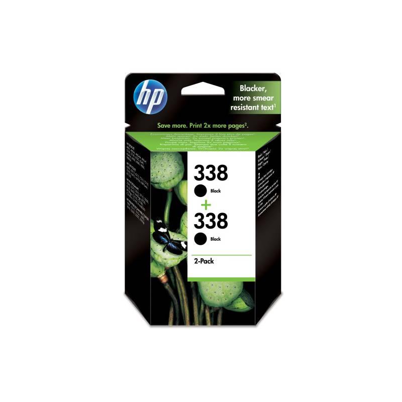 Cartridge, toner HP 2x 338, 960 stran - originální (CB331EE) čierna
