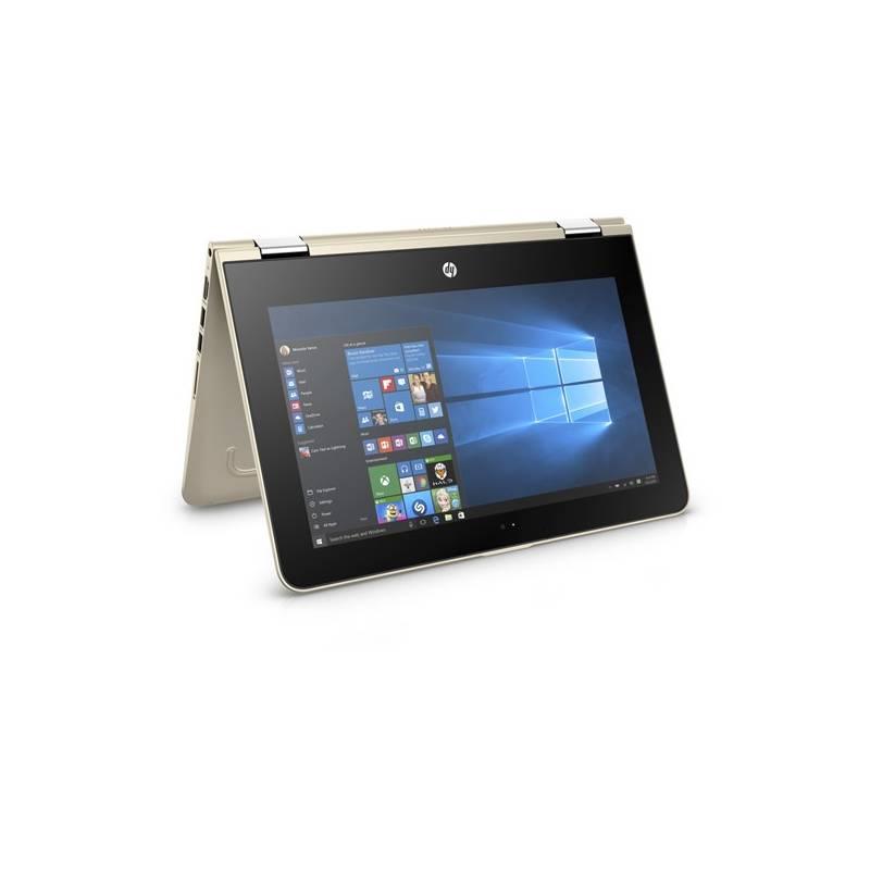 Notebook HP Pavilion x360 11-u000nc (F1W41EA#BCM) zlatý + Doprava zadarmo