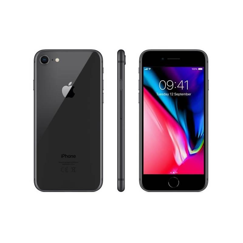 Mobilný telefón Apple iPhone 8 64 GB - Space Gray (MQ6G2CN/A) + Doprava zadarmo