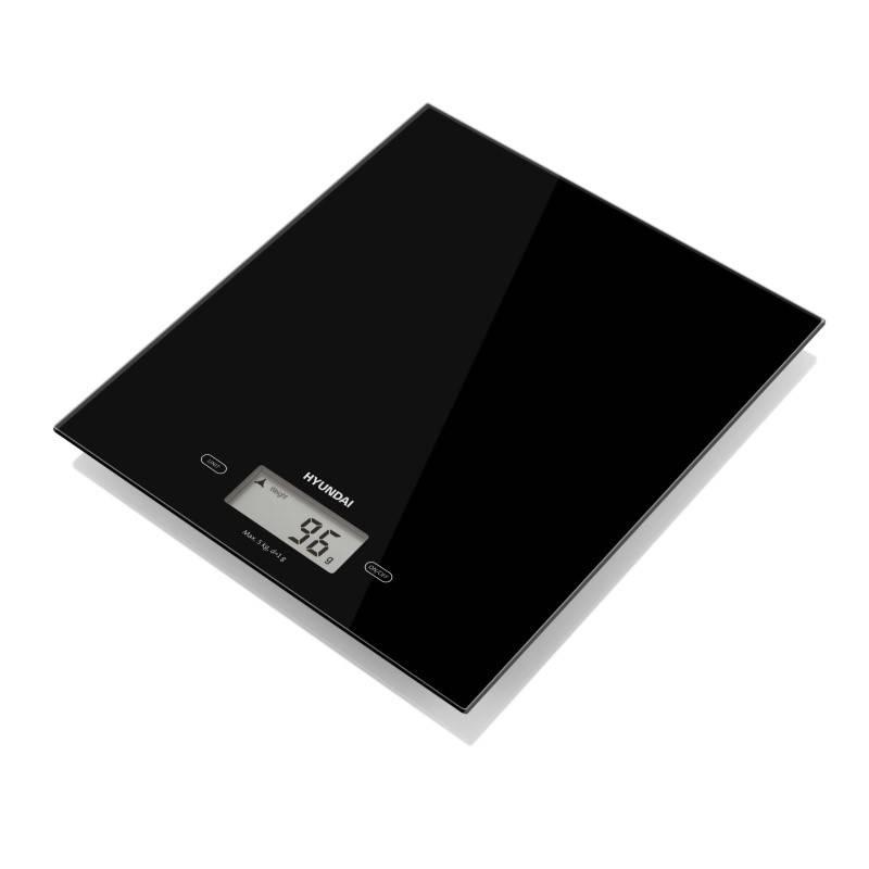 Kuchynská váha Hyundai KVE893B čierna