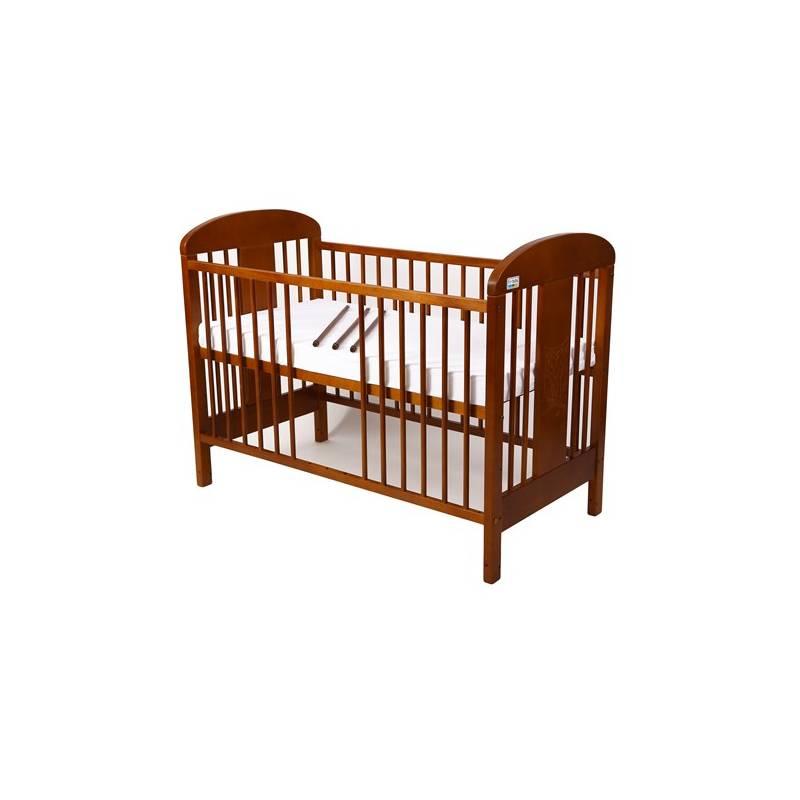 drewniane eczko dla dziecka for baby milu ka kolor drewna kasztan. Black Bedroom Furniture Sets. Home Design Ideas