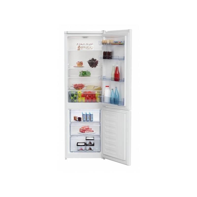 Kombinácia chladničky s mrazničkou Beko CSA 270 M30W biela + dodatočná zľava 10 %