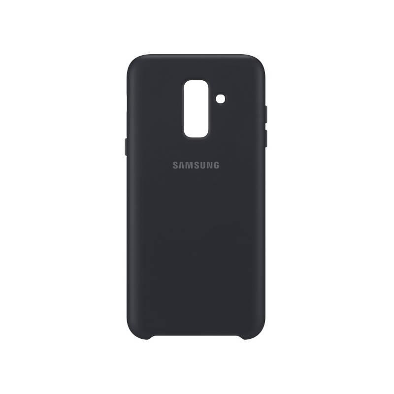 Kryt na mobil Samsung Silicon Cover pro Galaxy A6+ (EF-PA605CBEGWW) čierny
