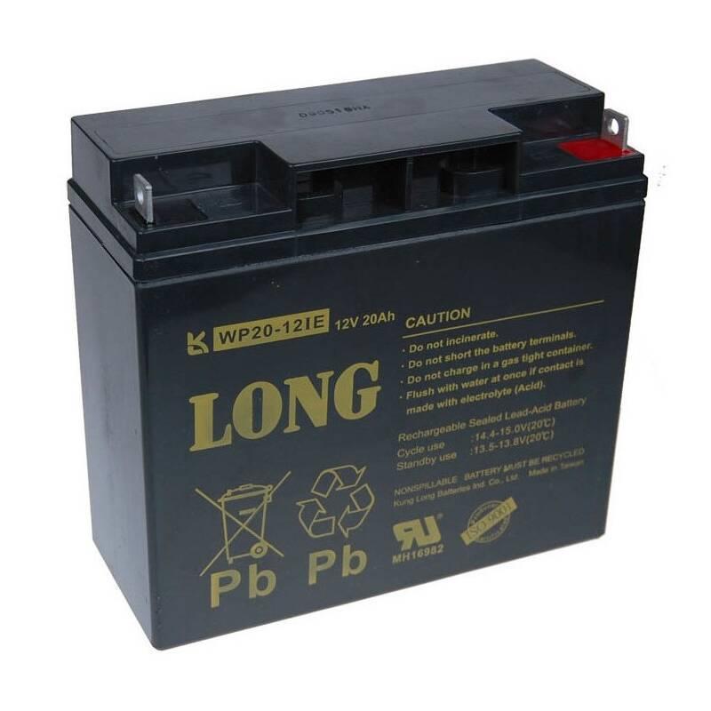 Olovený akumulátor Avacom Long 12V 20Ah DeepCycle AGM F3 (WP20-12IE) (PBLO-12V020-F3AD) + Doprava zadarmo