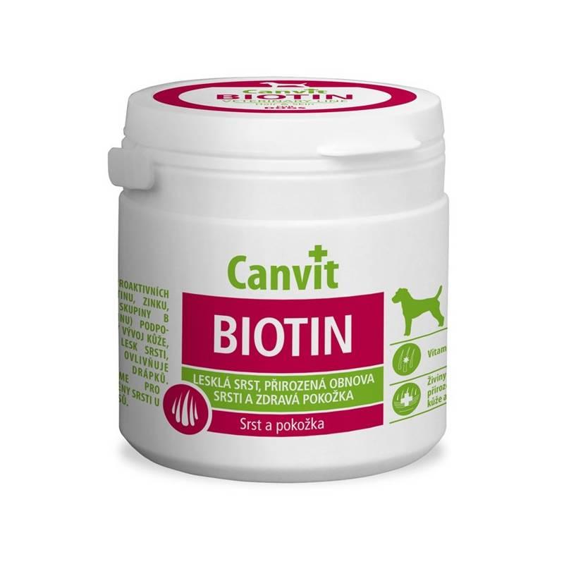 Tablety Canvit Biotin pro psy 230g new