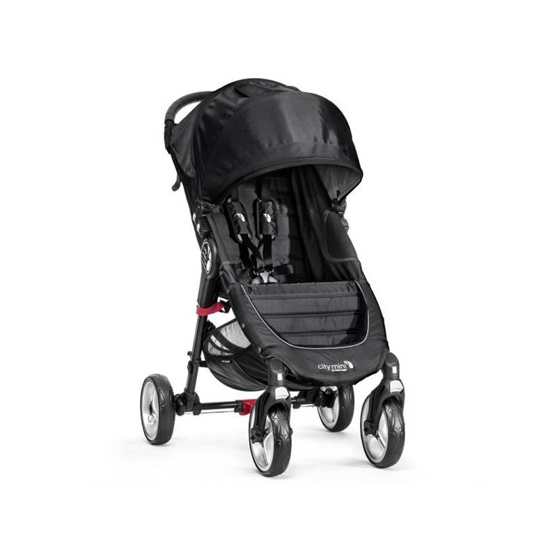 Kočík športový Baby Jogger CITY MINI 2016 4 kola Black/Gray + Doprava zadarmo