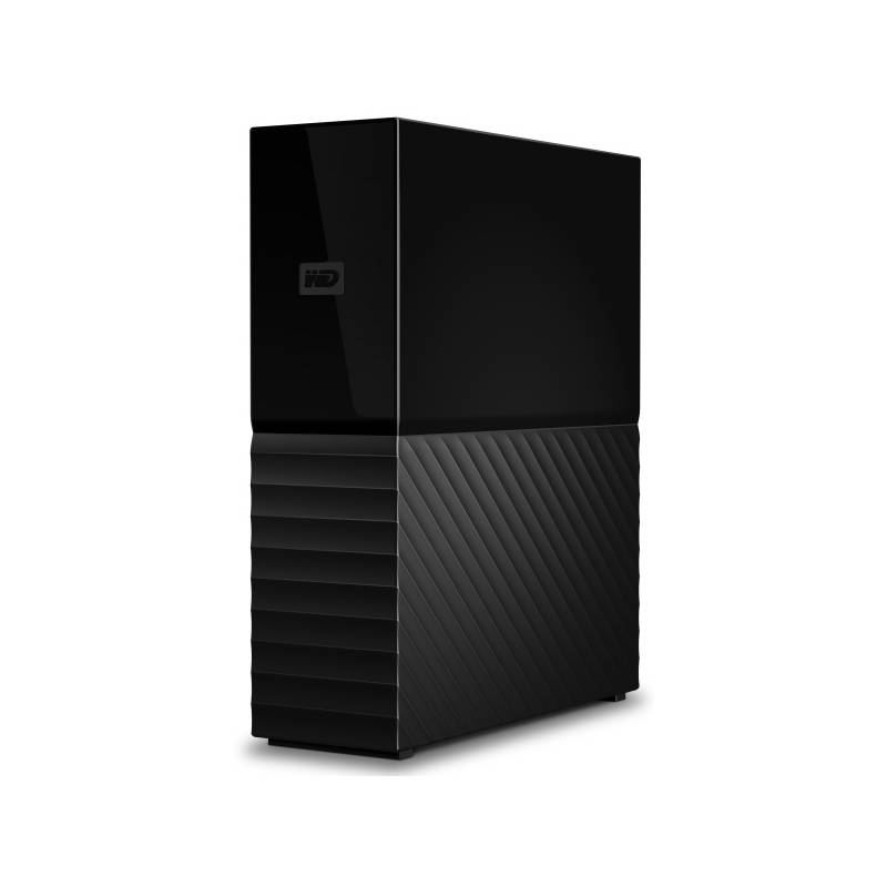 "Externý pevný disk 3,5"" Western Digital My Book 8TB (WDBBGB0080HBK-EESN) čierny"